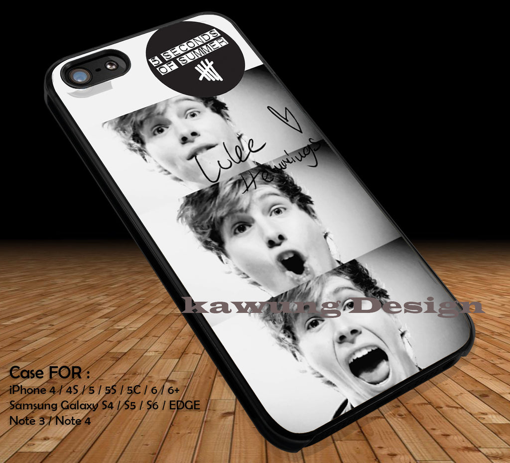 Luke Hammings 5 Seconds of Summer DOP2163 case/cover for iPhone 4/4s/5/5c/6/6+/6s/6s+ Samsung Galaxy S4/S5/S6/Edge/Edge+ NOTE 3/4/5 #music #5sos - Kawung Design  - 1