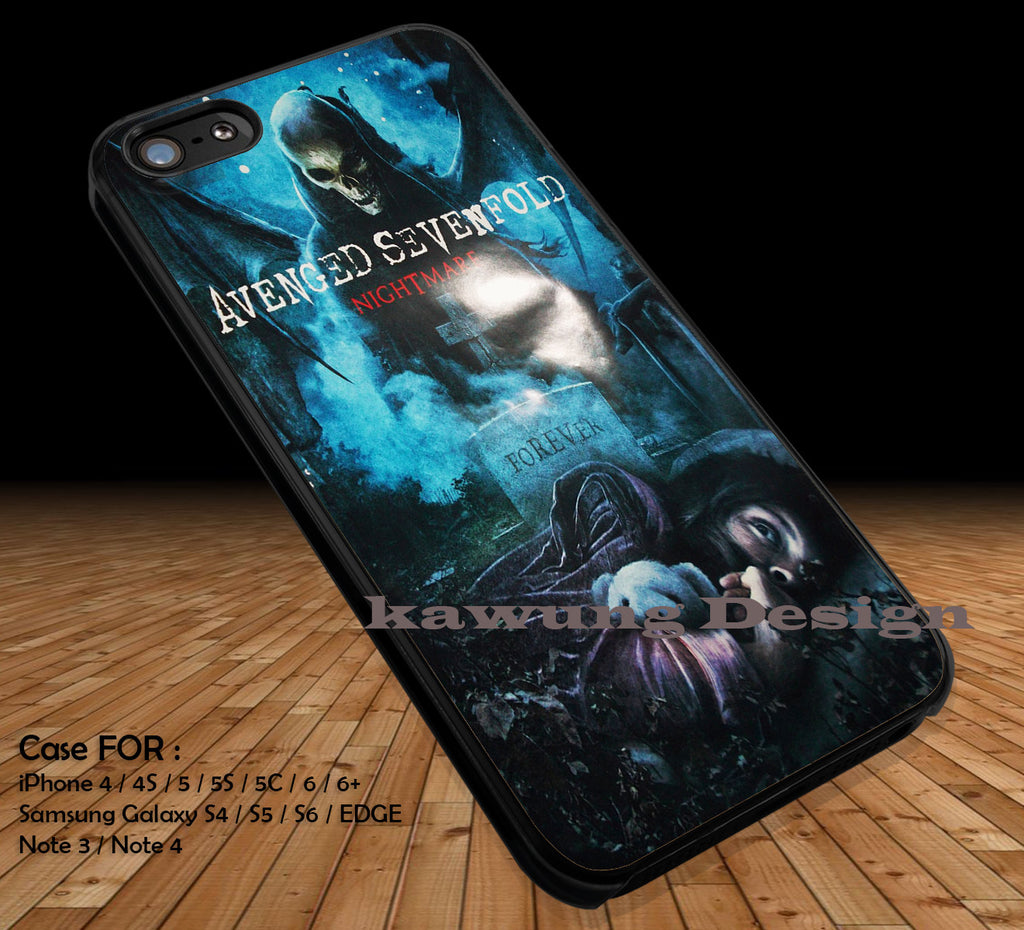 Avenged Sevenfold Most Wanted iPhone 6s 6 6s+ 5c 5s Cases Samsung Galaxy s5 s6 Edge+ NOTE 5 4 3 #music #a7x DOP2170 - Kawung Design  - 1