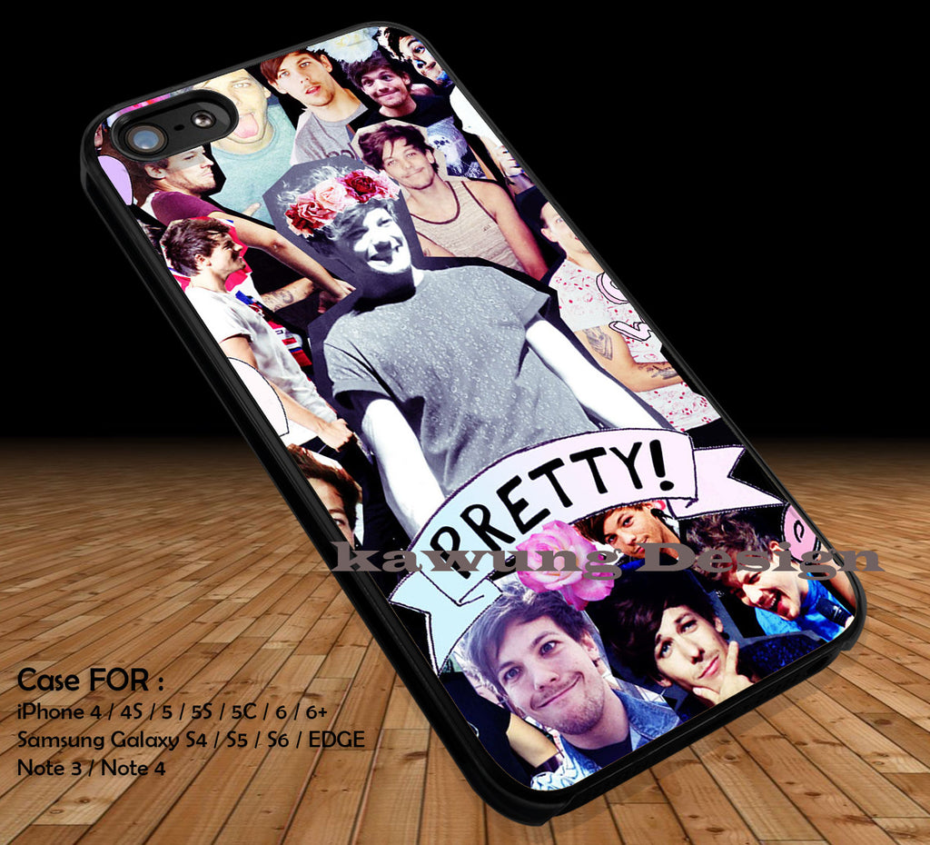 One Direction 1D DOP2176 case/cover for iPhone 4/4s/5/5c/6/6+/6s/6s+ Samsung Galaxy S4/S5/S6/Edge/Edge+ NOTE 3/4/5 #music #1d - Kawung Design  - 1