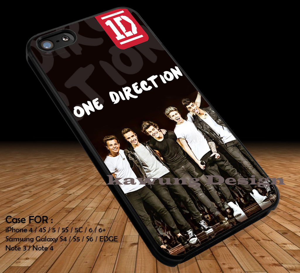 One Direction 1D DOP2189 case/cover for iPhone 4/4s/5/5c/6/6+/6s/6s+ Samsung Galaxy S4/S5/S6/Edge/Edge+ NOTE 3/4/5 #music #1d - Kawung Design  - 1