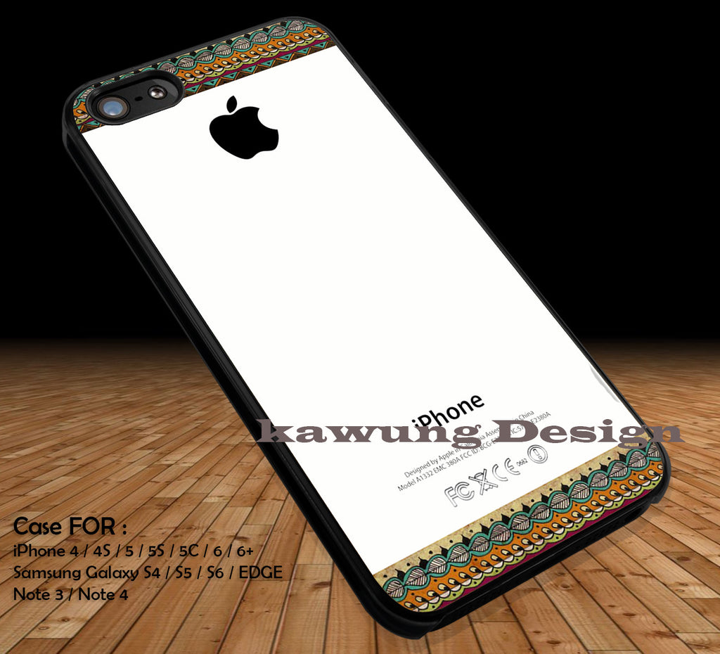 Aztec Print Logo Apple iPhone 6s 6 6s+ 5c 5s Cases Samsung Galaxy s5 s6 Edge+ NOTE 5 4 3 #art DOP2206 - Kawung Design  - 1