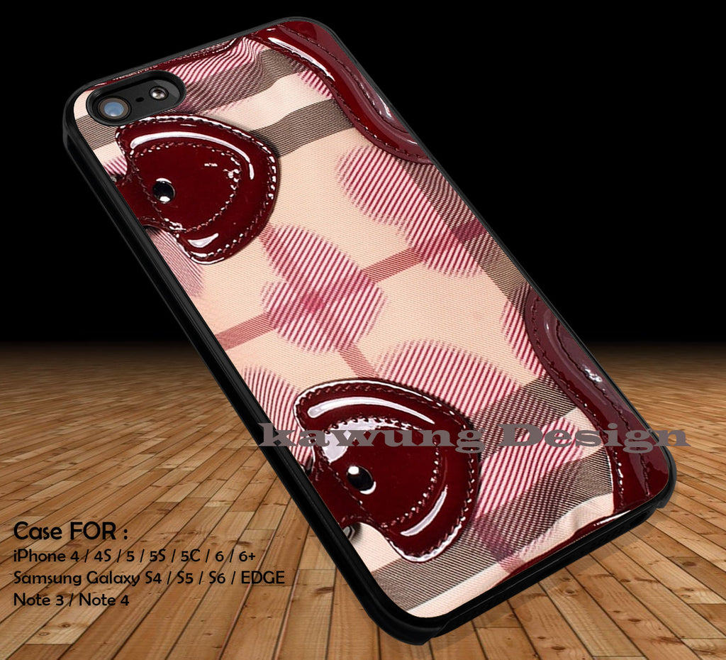 Burberry Bag Satchel Inspired iPhone X 8+ 7 6s Cases Samsung Galaxy S8 S7 edge NOTE 8 5 4