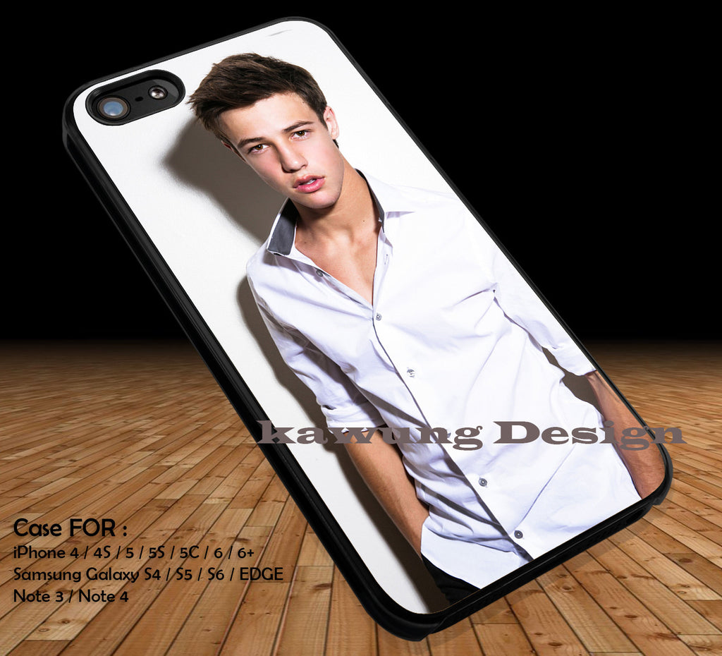 Cameron Dallas Sexy iPhone 6s 6 6s+ 5c 5s Cases Samsung Galaxy s5 s6 Edge+ NOTE 5 4 3 #movie #MagconBoys DOP2217 - Kawung Design  - 1