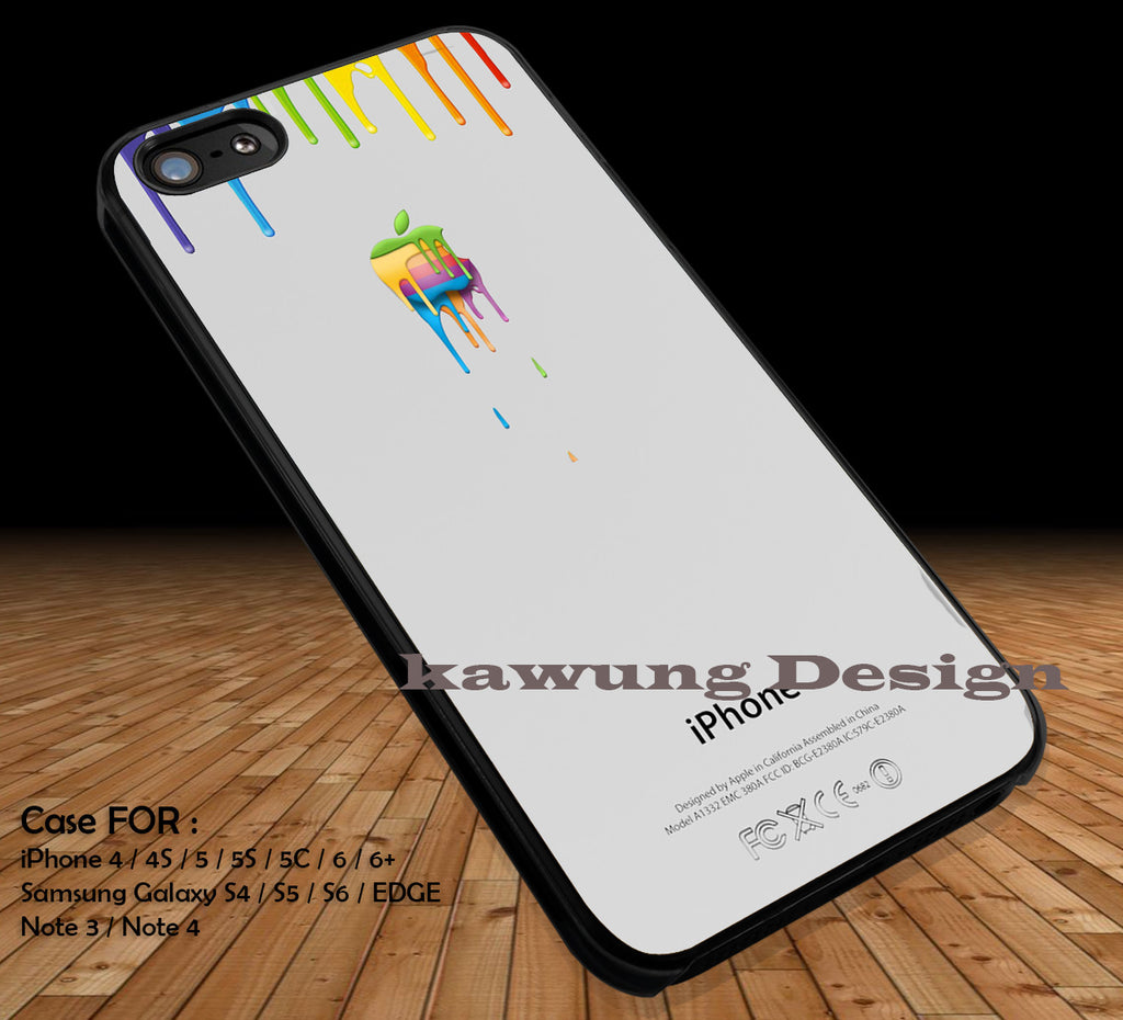 Colorful Apple Dripping iPhone 6s 6 6s+ 5c 5s Cases Samsung Galaxy s5 s6 Edge+ NOTE 5 4 3 #art DOP2230 - Kawung Design  - 1
