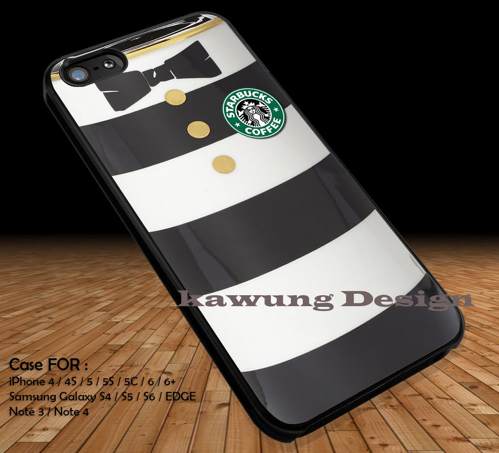 Alice in Wonderland and Starbuck Coffee's Logo DOP23 case/cover for iPhone 4/4s/5/5c/6/6+/6s/6s+ Samsung Galaxy S4/S5/S6/Edge/Edge+ NOTE 3/4/5 #cartoon #anime #alice - Kawung Design  - 1