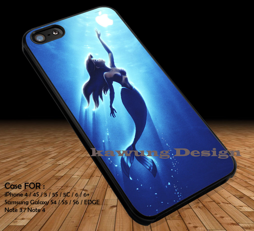 Ariel Reaching For an Apple iPhone 6s 6 6s+ 5c 5s Cases Samsung Galaxy s5 s6 Edge+ NOTE 5 4 3 #cartoon #disney #animated #theLittleMermaid DOP26 - Kawung Design  - 4
