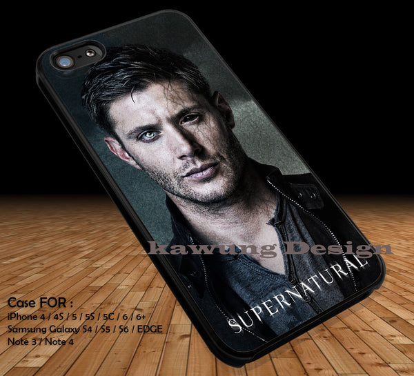 Half face demon, Supernatural, Jensen ackles, dean winchester, movie, tv serial Cases/Covers for iPhone 4/4s/5/5c/6/6+/6s/6s+ Samsung Galaxy S4/S5/S6/Edge/Edge+ NOTE 3/4/5