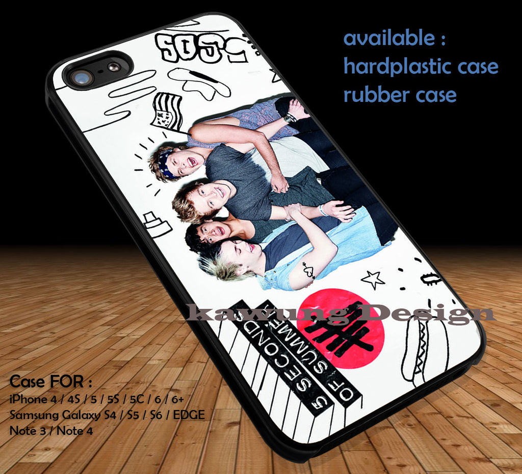 5 Seconds of Summer DOP3116 case/cover for iPhone 4/4s/5/5c/6/6+/6s/6s+ Samsung Galaxy S4/S5/S6/Edge/Edge+ NOTE 3/4/5 #music #5sos - K-Designs