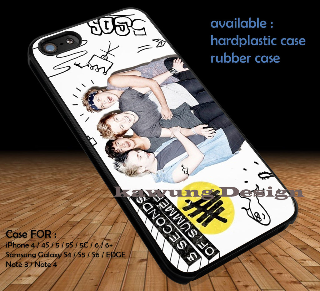 5 Seconds of Summer DOP3120 case/cover for iPhone 4/4s/5/5c/6/6+/6s/6s+ Samsung Galaxy S4/S5/S6/Edge/Edge+ NOTE 3/4/5 #music #5sos - K-Designs