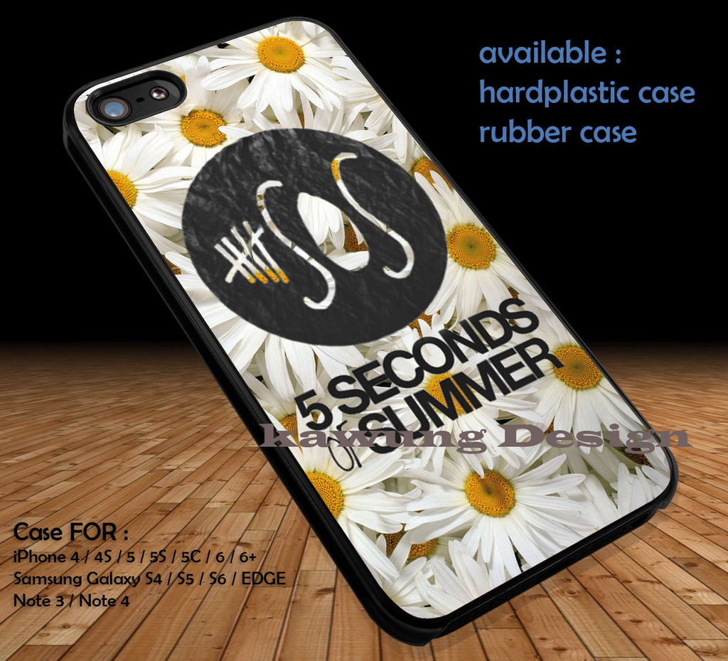 5 Seconds of Summer DOP3123 case/cover for iPhone 4/4s/5/5c/6/6+/6s/6s+ Samsung Galaxy S4/S5/S6/Edge/Edge+ NOTE 3/4/5 #music #5sos - K-Designs
