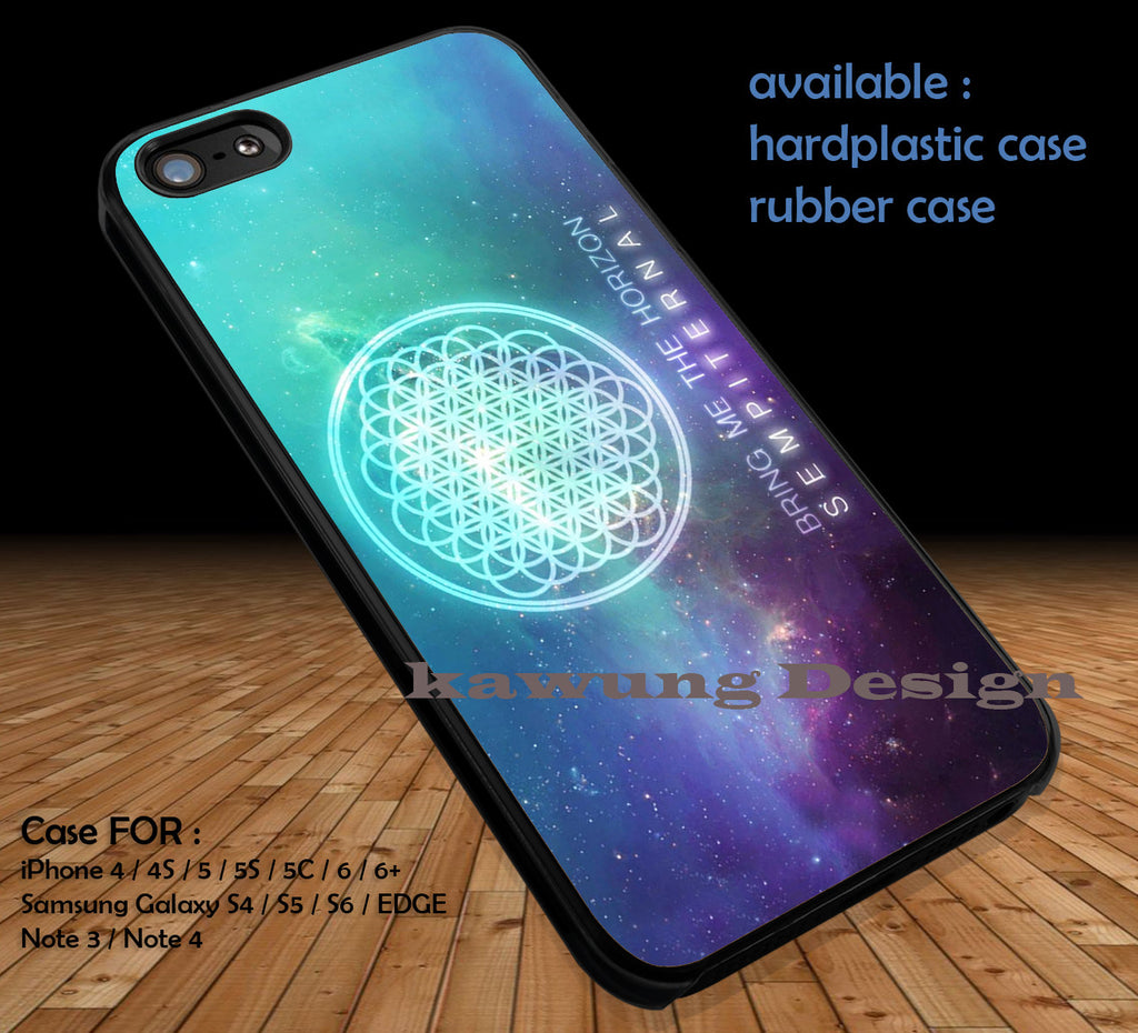 Bring Me The Horizon Sempiternal iPhone 6s 6 6s+ 5c 5s Cases Samsung Galaxy s5 s6 Edge+ NOTE 5 4 3 #music #bmth DOP3132 - Kawung Design  - 1