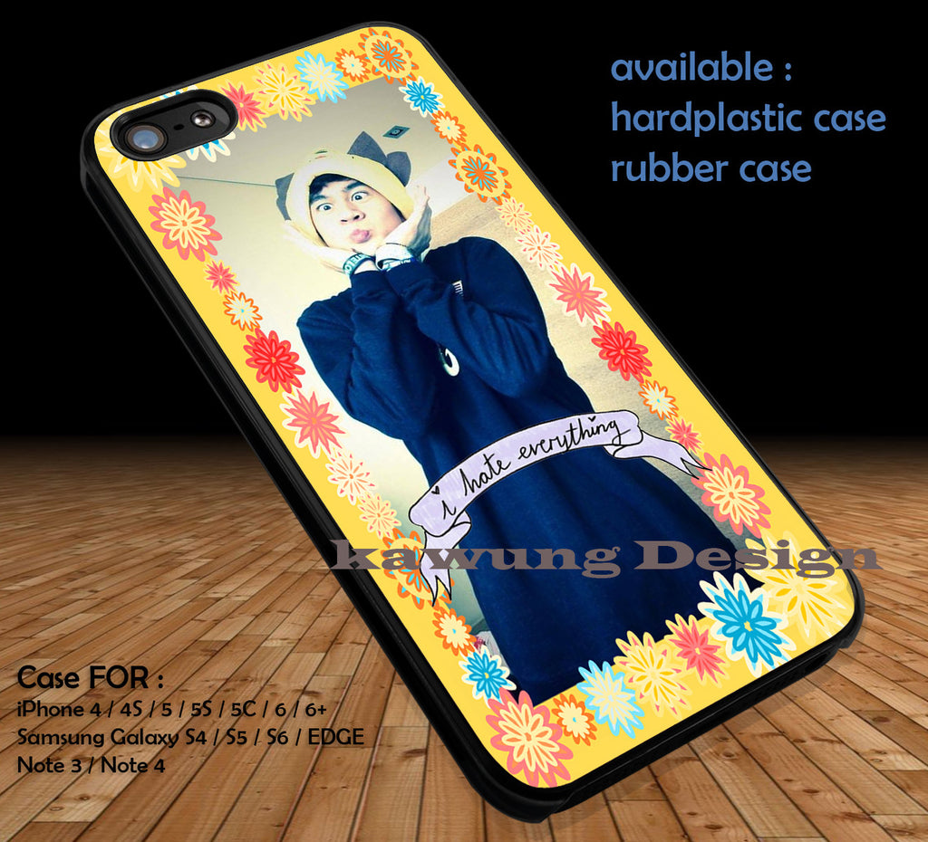 Calum Hood Copy of 5 Seconds of Summer DOP3133 case/cover for iPhone 4/4s/5/5c/6/6+/6s/6s+ Samsung Galaxy S4/S5/S6/Edge/Edge+ NOTE 3/4/5 #music #5sos - Kawung Design  - 1
