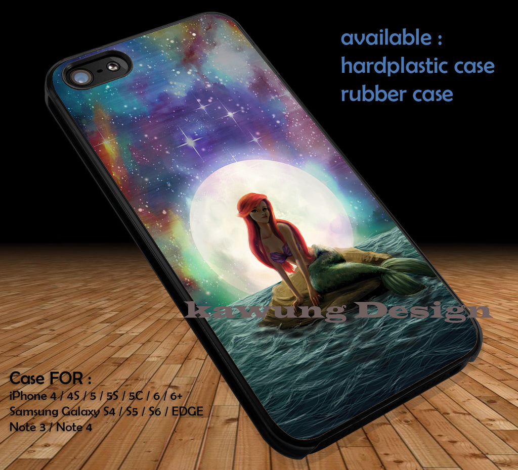 The Little Mermaid DOP348 case/cover for iPhone 4/4s/5/5c/6/6+/6s/6s+ Samsung Galaxy S4/S5/S6/Edge/Edge+ NOTE 3/4/5 #cartoon #disney #animated - Kawung Design  - 1