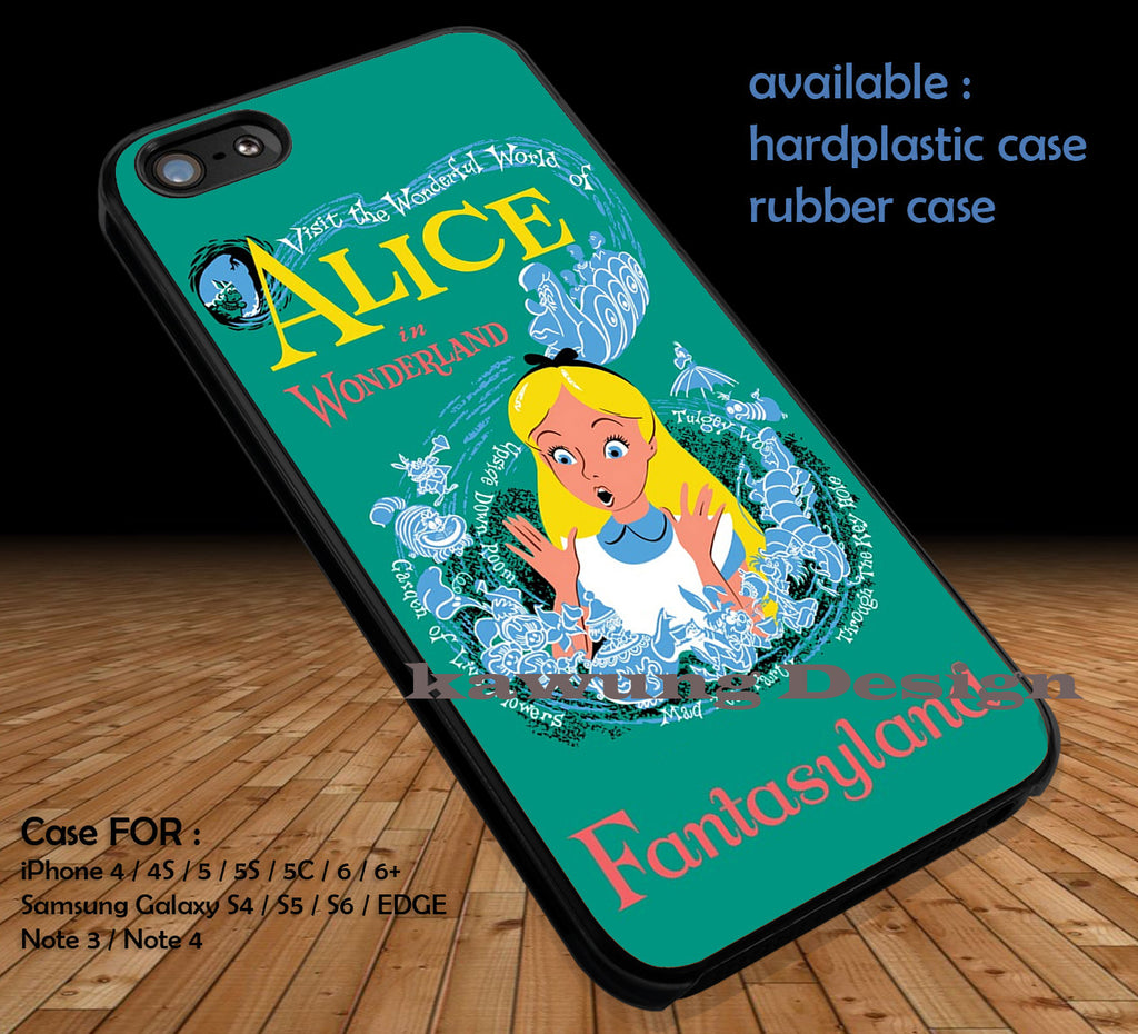 Copy of Alice in Wonderland Book Art Vintage iPhone 6s 6 6s+ 5c 5s Cases Samsung Galaxy s5 s6 Edge+ NOTE 5 4 3 #cartoon #anime #alice dt - Kawung Design  - 1
