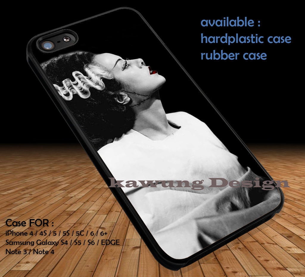 Bride of Frankenstein Monster Red iPhone 6s 6 6s+ 5c 5s Cases Samsung Galaxy s5 s6 Edge+ NOTE 5 4 3 #movie #BrideOfFrankenstein DOP358 - Kawung Design  - 1