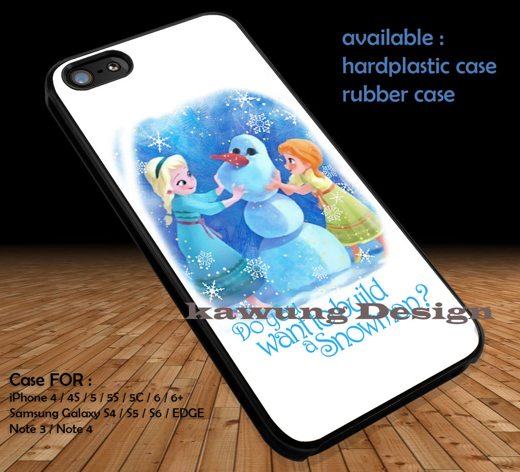 Build a Cute iPhone 6s 6 6s+ 5c 5s Cases Samsung Galaxy s5 s6 Edge+ NOTE 5 4 3 #cartoon #disney #animated  #frozen DOP413 - Kawung Design  - 1