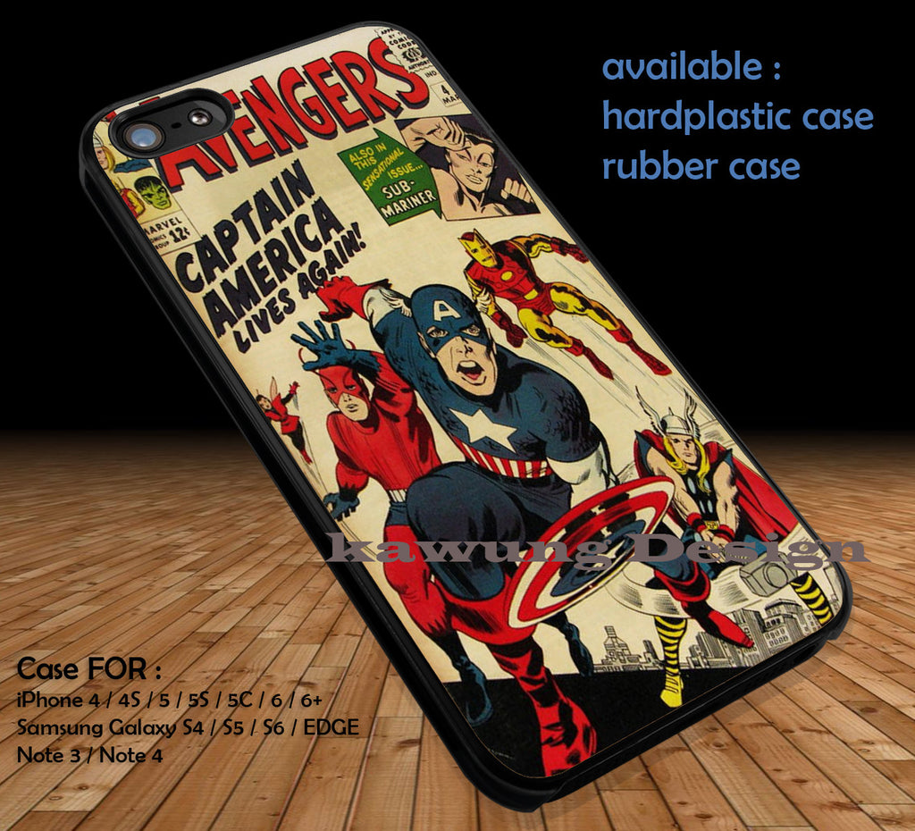 Classic Cover The Avengers iPhone 8+ 7 6s Cases Samsung Galaxy S8 S7 edge NOTE 8 5 4