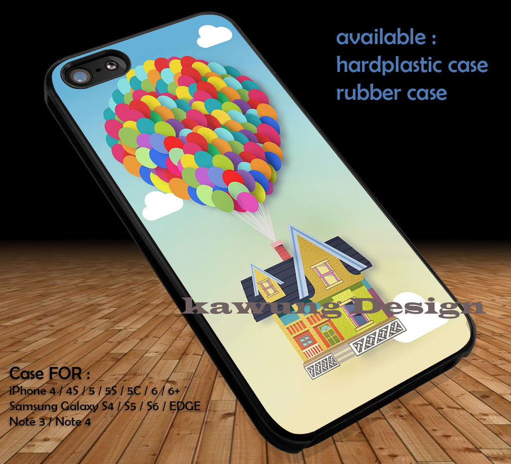 Colorful Balloons Up iPhone 6s 6 6s+ 5c 5s Cases Samsung Galaxy s5 s6 Edge+ NOTE 5 4 3 #cartoon #disney #animated #up DOP417 - Kawung Design  - 1