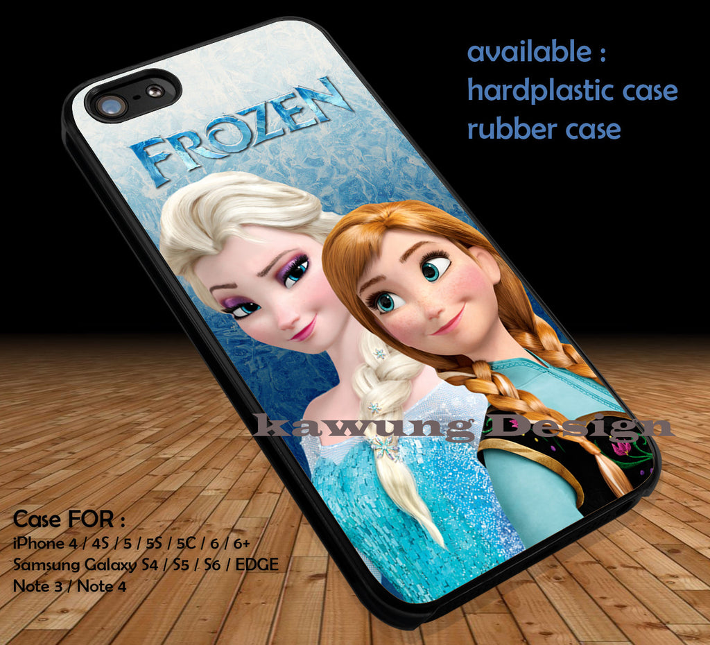 Beautiful Image Frozen iPhone 6s 6 6s+ 5c 5s Cases Samsung Galaxy s5 s6 Edge+ NOTE 5 4 3 #cartoon #disney #animated  #frozen DOP46 - Kawung Design  - 1