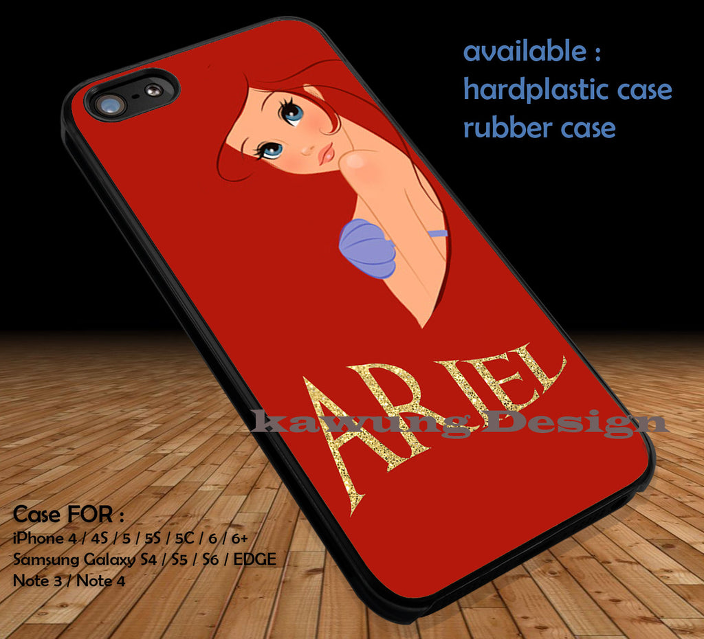 Beautiful Sea Creature Ariel iPhone 6s 6 6s+ 5c 5s Cases Samsung Galaxy s5 s6 Edge+ NOTE 5 4 3 #cartoon #disney #animated #theLittleMermaid DOP48 - Kawung Design  - 1