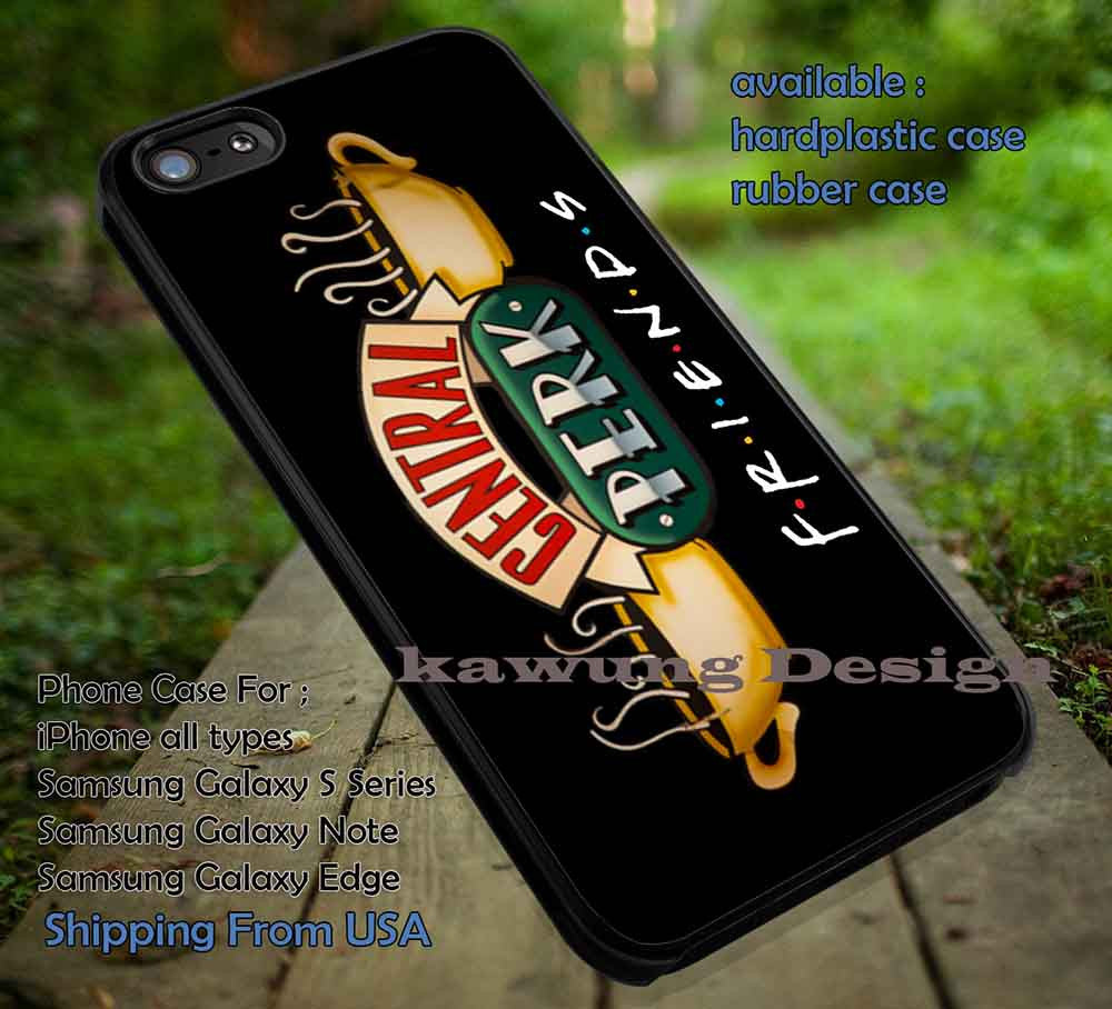 Coffee Cups Central Perk iPhone 6s 6 6s+ 5c 5s Cases Samsung Galaxy s5 s6 Edge+ NOTE 5 4 3 #movie #Friends DOP6154 - Kawung Design  - 1