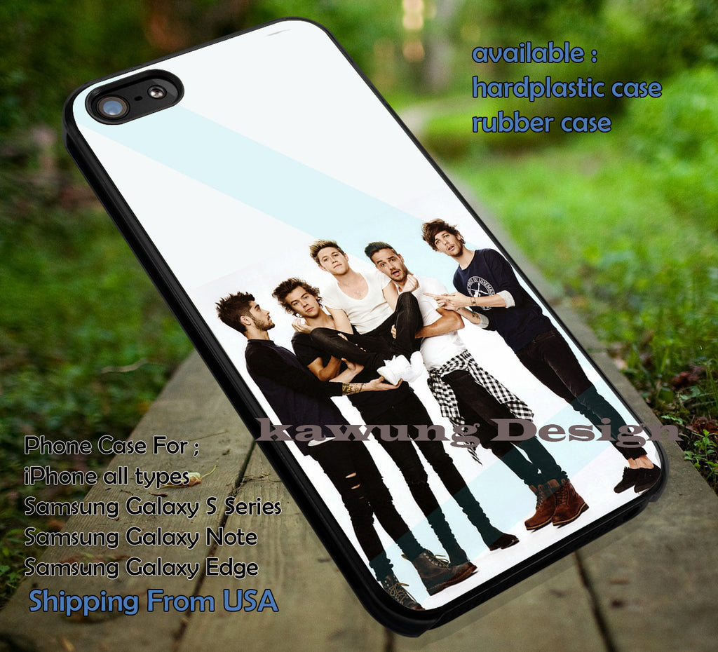 Five Boys Funny One Direction 1D DOP2159 case/cover for iPhone 4/4s/5/5c/6/6+/6s/6s+ Samsung Galaxy S4/S5/S6/Edge/Edge+ NOTE 3/4/5 #music #1d - Kawung Design  - 1