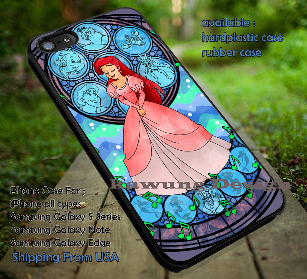 Pink Gown The Little Mermaid DOP746 case/cover for iPhone 4/4s/5/5c/6/6+/6s/6s+ Samsung Galaxy S4/S5/S6/Edge/Edge+ NOTE 3/4/5 #cartoon #disney #animated - Kawung Design  - 1