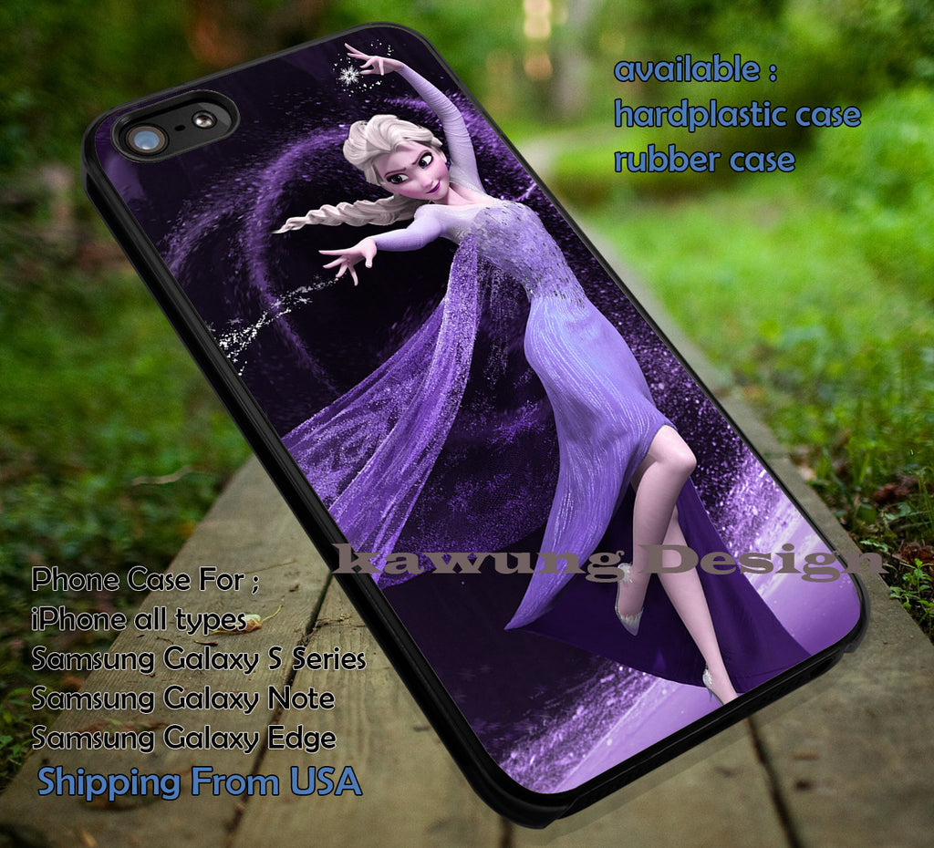 The Power of Elsa Frozen DOP581 case/cover for iPhone 4/4s/5/5c/6/6+/6s/6s+ Samsung Galaxy S4/S5/S6/Edge/Edge+ NOTE 3/4/5 #cartoon #disney #animated #frozen - Kawung Design  - 1