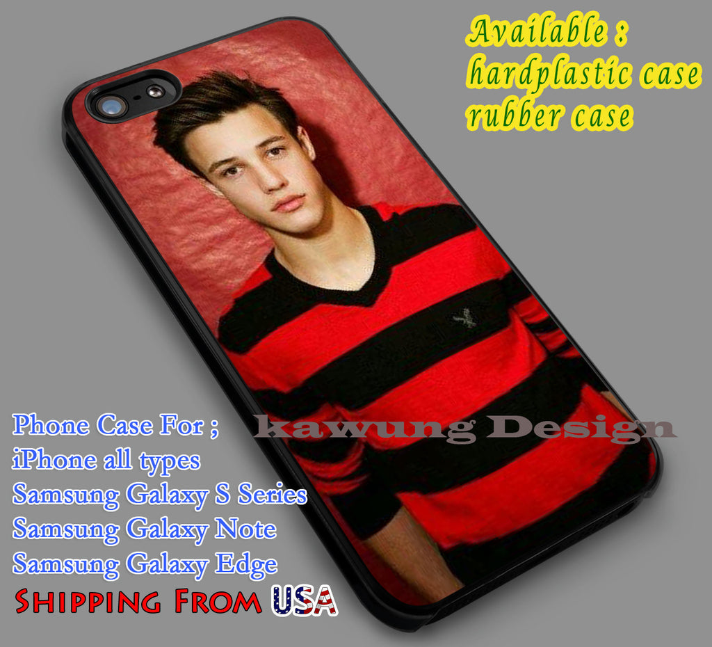 Cameron Dallas and Red iPhone 6s 6 6s+ 5c 5s Cases Samsung Galaxy s5 s6 Edge+ NOTE 5 4 3 #movie #MagconBoys dl7 - Kawung Design  - 1