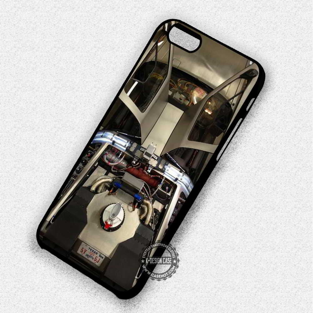 DeLorean Car Back To The Future - iPhone 7 6 Plus 5c 5s SE Cases & Covers - Kawung Design  - 1