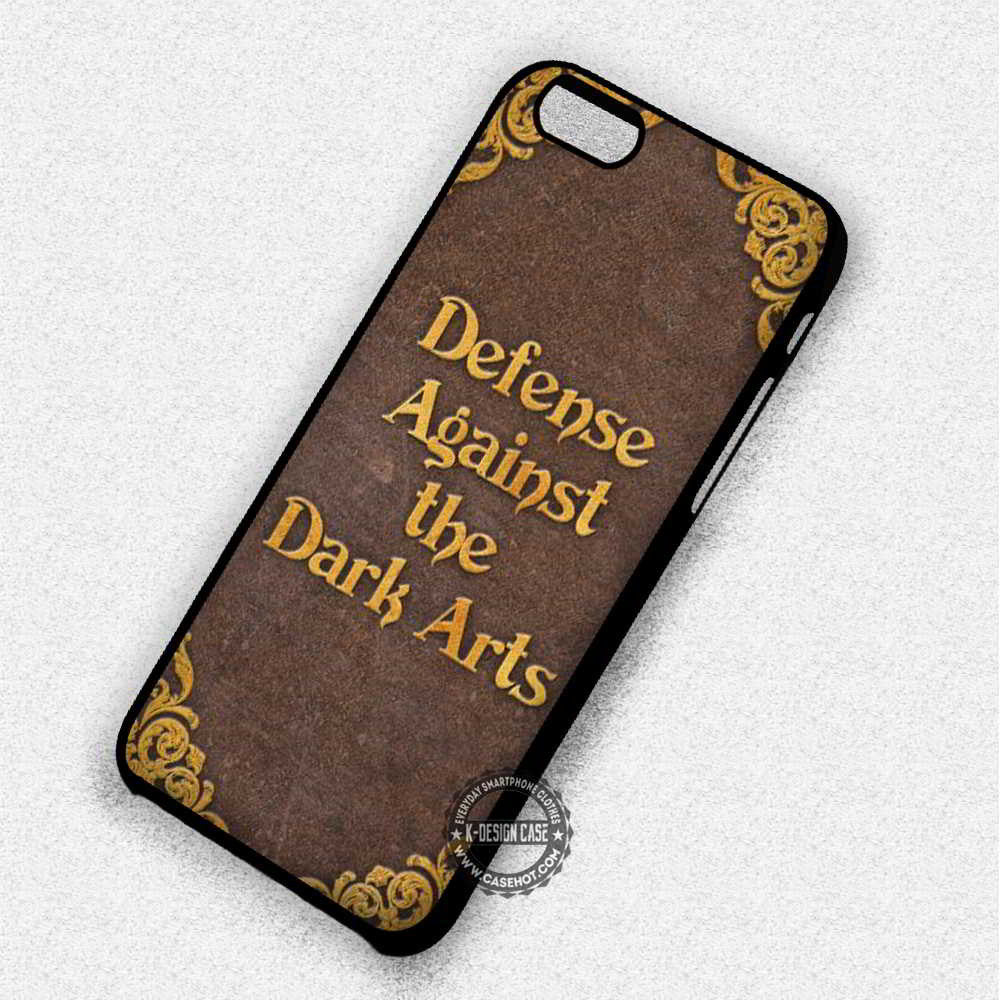 Defense Againts The Dark Harry Potter Book - iPhone 7 6 Plus 5c 5s SE Cases & Covers - Kawung Design  - 1