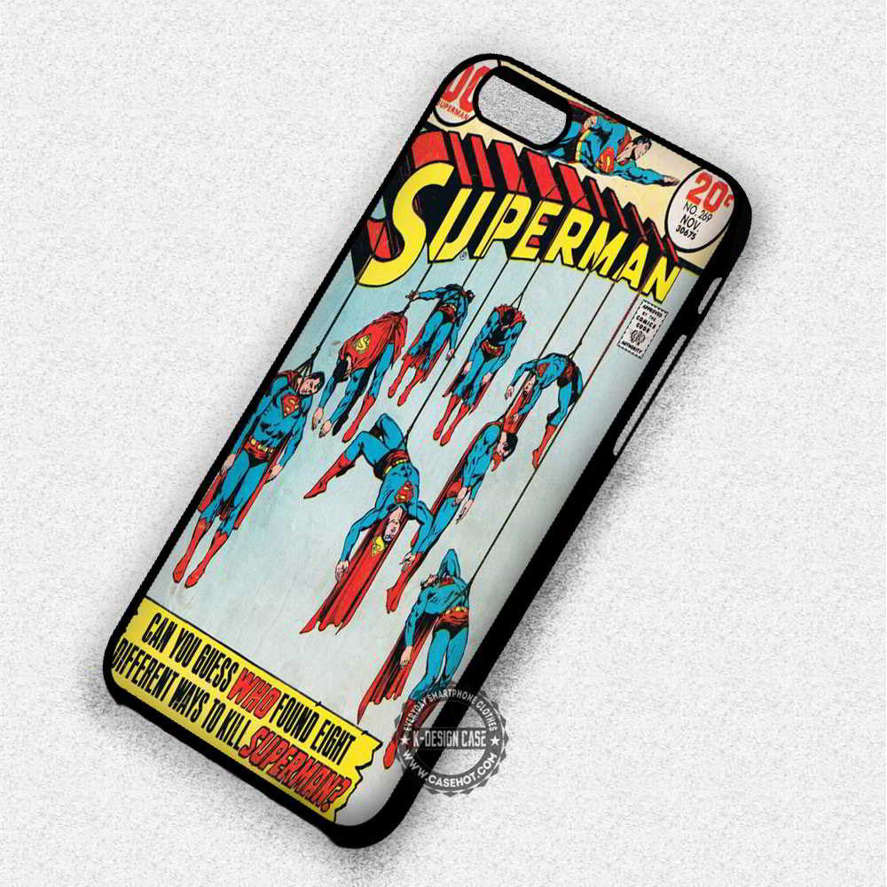 Different Ways To Kill  Supeman DC Comics - iPhone 7 6 Plus 5c 5s SE Cases & Covers - Kawung Design  - 1