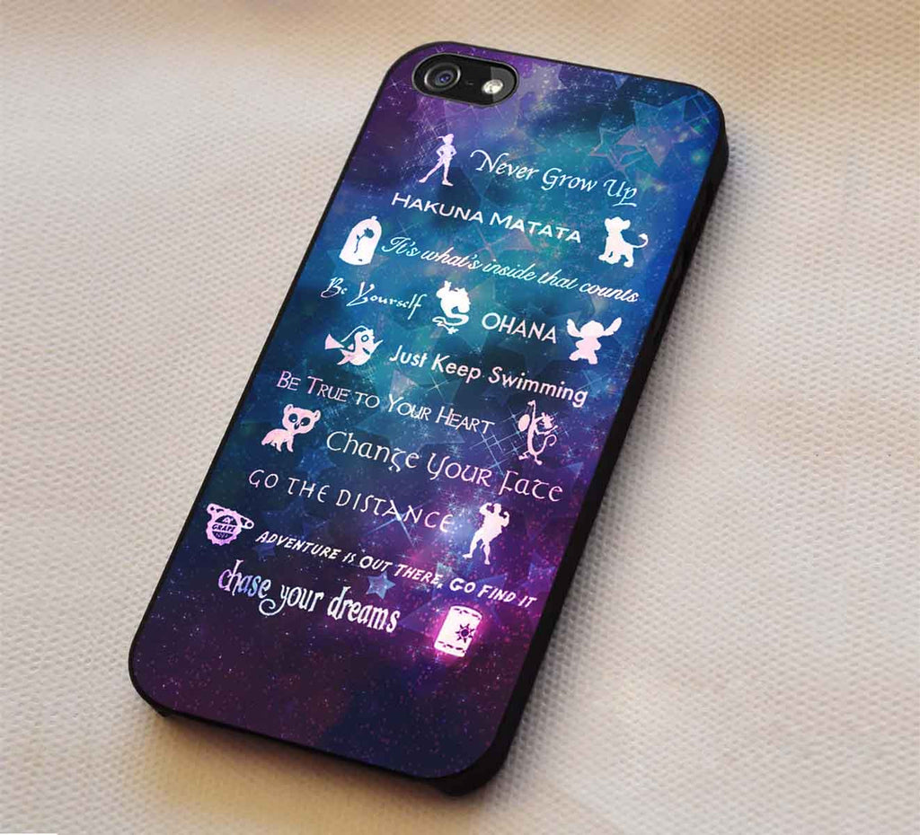 Quote Lessons Learned Mash Up Disney IPhone 8 7 6s Cases Samsung Galaxy S8 S7