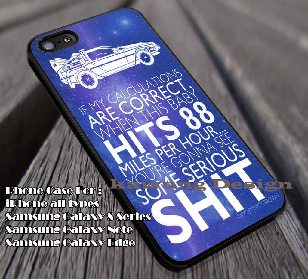 Doc Emmett Brown Quote Back To The Future Iphone 44s55c666s