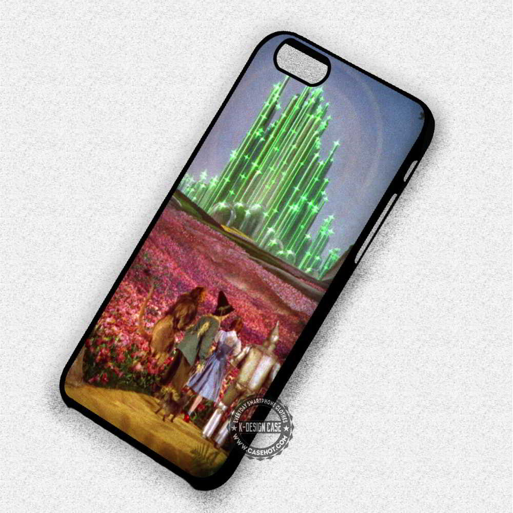 Dorothy and Friends The Wizard of Oz - iPhone 7 6 Plus 5c 5s SE Cases & Covers - Kawung Design  - 1
