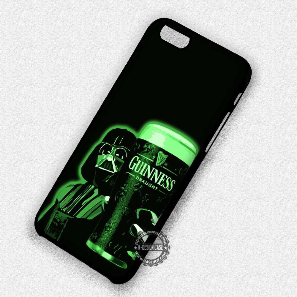 Star Wars Guinness Darth Vader - iPhone 7 6 Plus 5c 5s SE Cases & Covers - Kawung Design  - 1