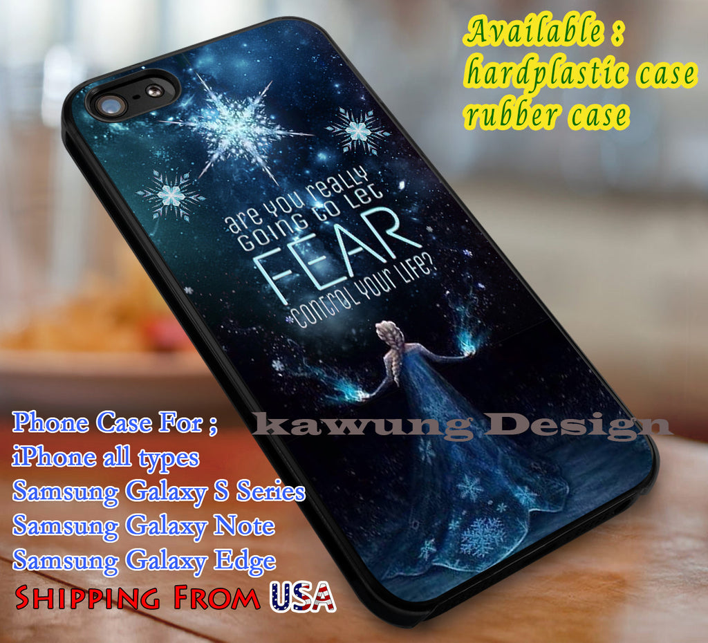 Elsa's Quote Frozen case/cover for iPhone 4/4s/5/5c/6/6+/6s/6s+ Samsung Galaxy S4/S5/S6/Edge/Edge+ NOTE 3/4/5 #cartoon #disney #animated #frozen dl1 - Kawung Design  - 1