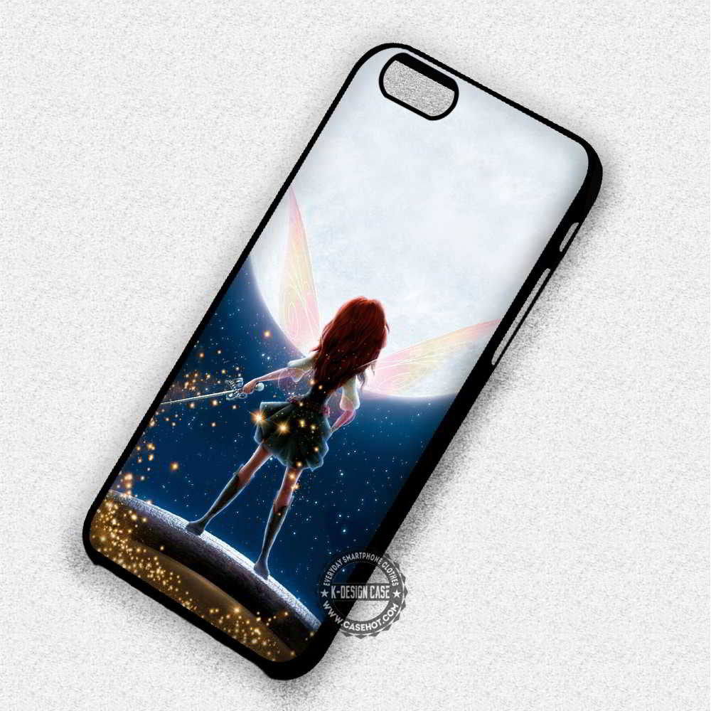 Fairy Pirate Tinkerbell - iPhone 7 6 Plus 5c 5s SE Cases & Covers - Kawung Design  - 1