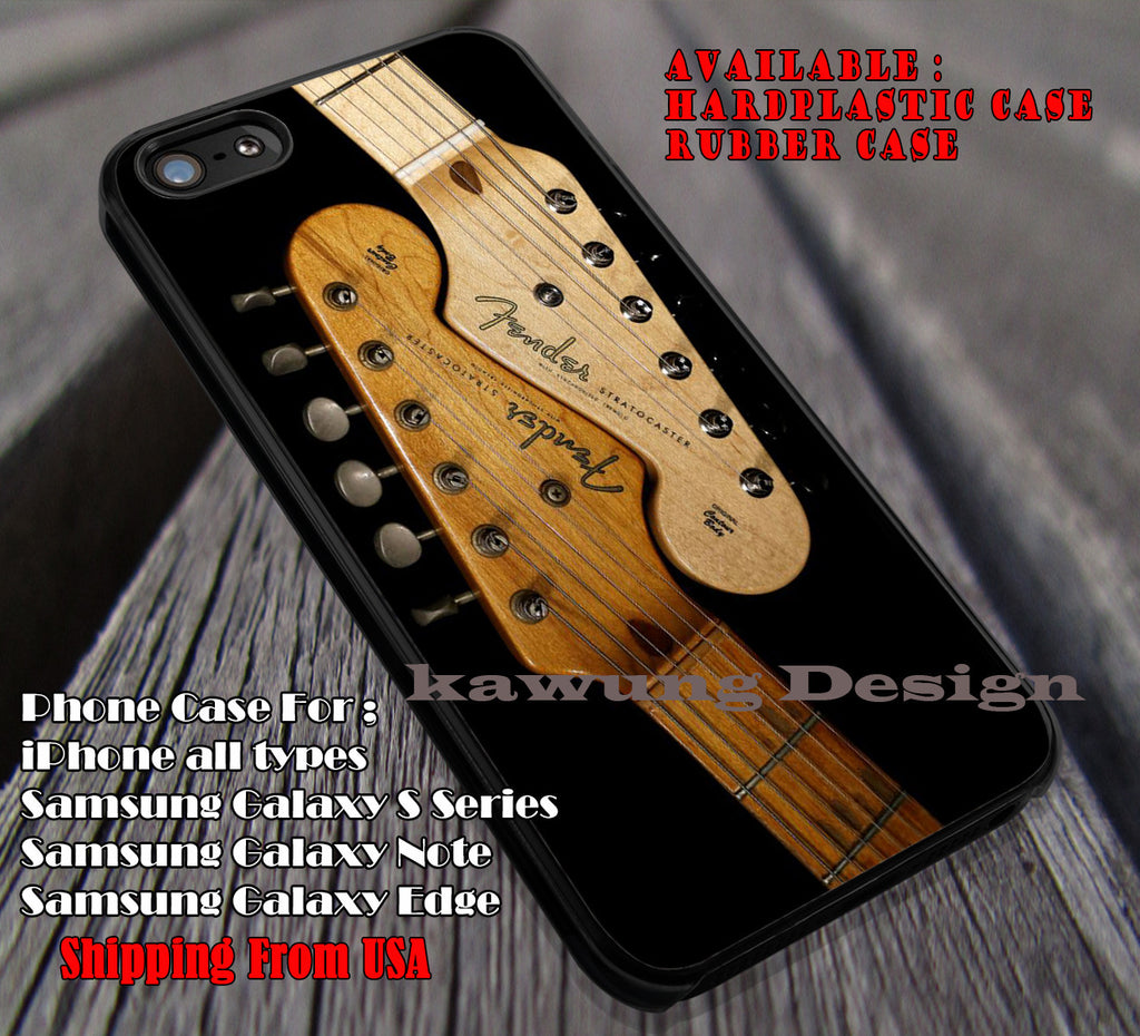 Fender Stratocaster Guitar iPhone 7 7+ 6s 6 Cases Samsung Galaxy S8 S7 edge S6 S5  NOTE 5 4
