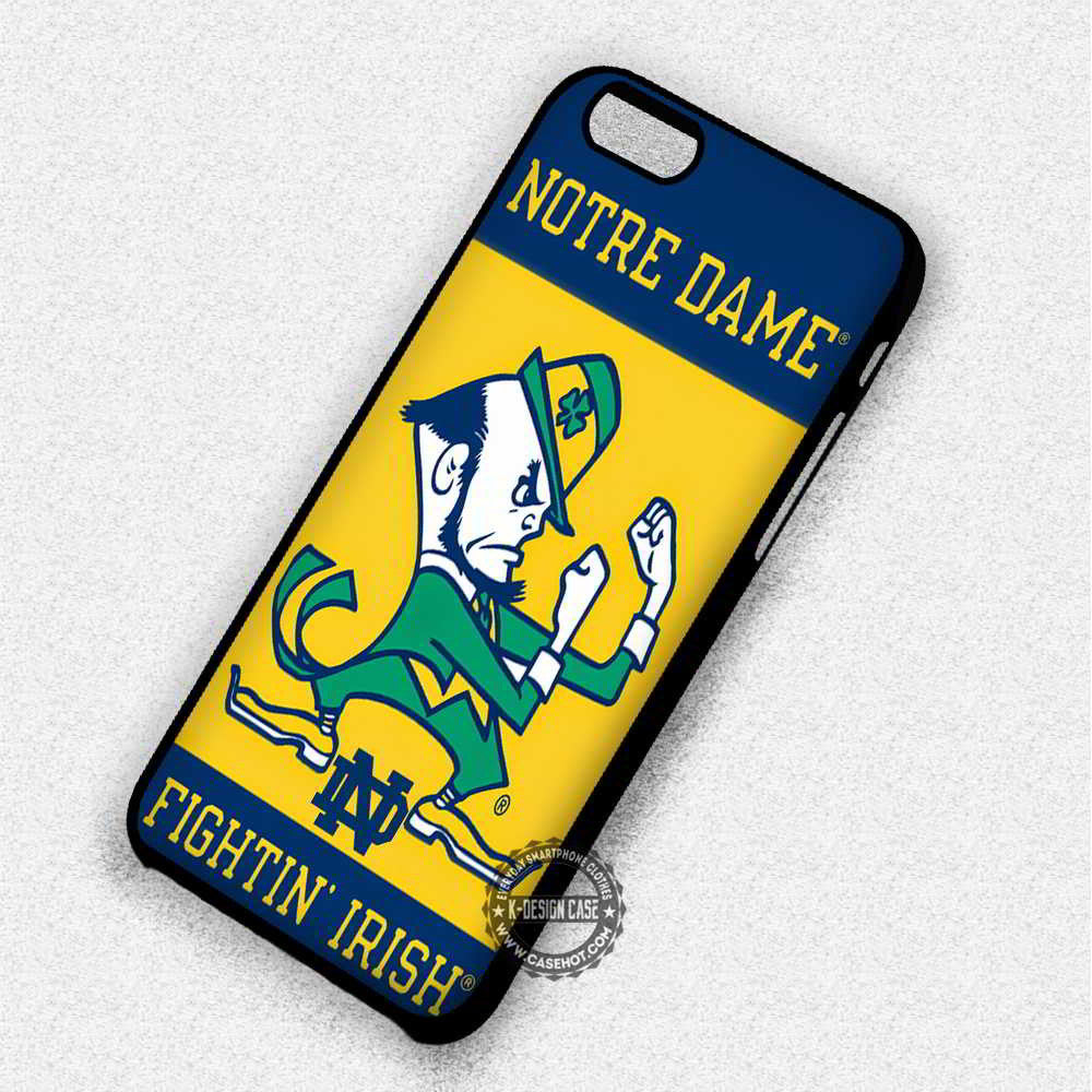 Notre Dame Fighting Irish - iPhone 7 6 Plus 5c 5s SE Cases & Covers - Kawung Design  - 1