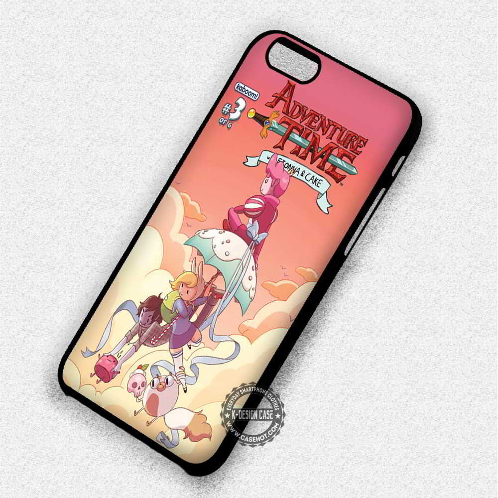 Fiona and Cake Adventure Time - iPhone 7 6 Plus 5c 5s SE Cases & Covers - Kawung Design  - 1
