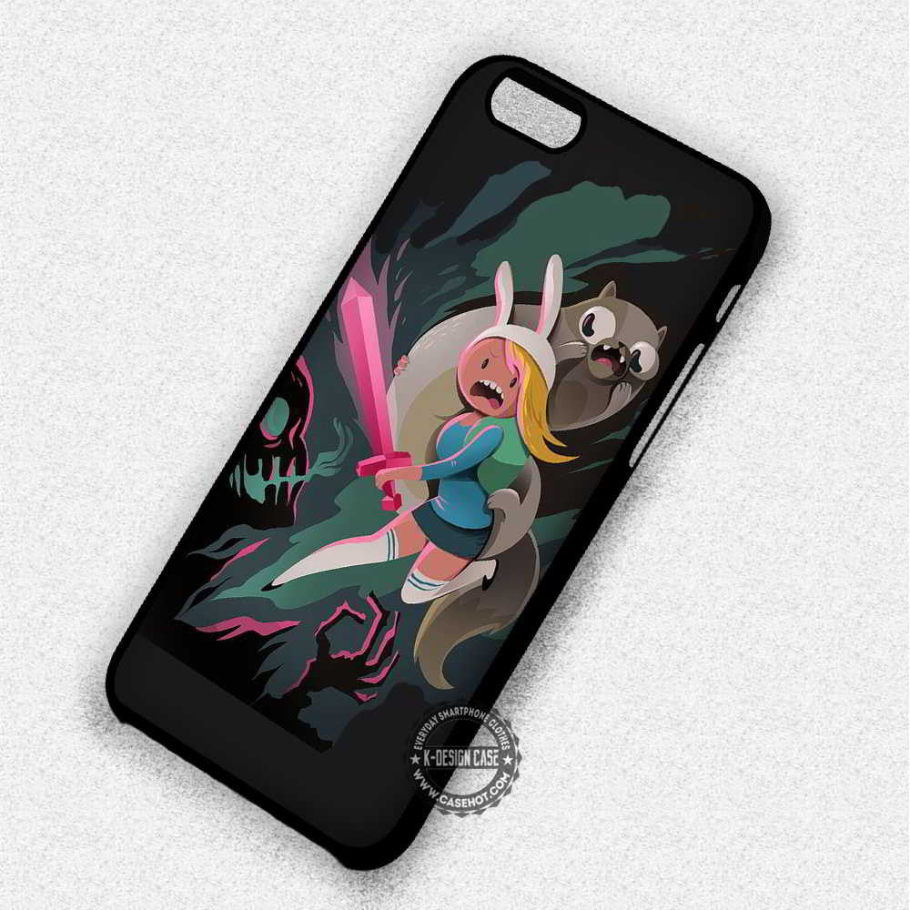 Fionna and Cake Cute Totem Adventure Time  - iPhone 7 6 Plus 5c 5s SE Cases & Covers - Kawung Design  - 1