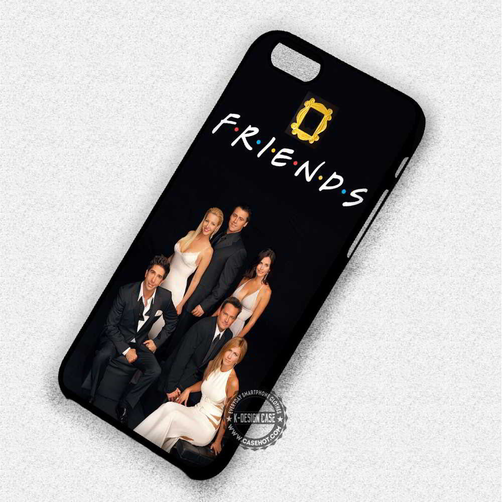 Friendship Friends TV Show - iPhone 7 6 5 SE Cases & Covers - Kawung Design  - 1