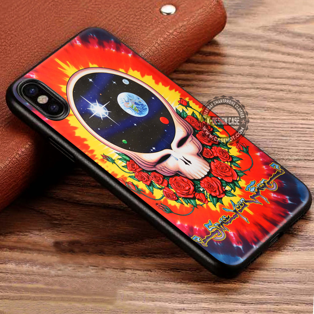 Grateful Dead 'Space Your Face iPhone X Case