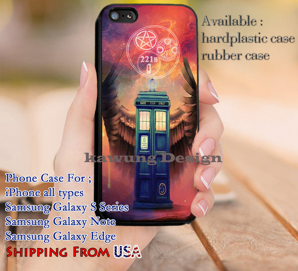 Great Fandoms Symbol Tardis iPhone 6s 6 6s+ 5c 5s Cases Samsung Galaxy s5 s6 Edge+ NOTE 5 4 3 #movie #superwholock #doctorwho #sherlockholmes dl9 - Kawung Design  - 1