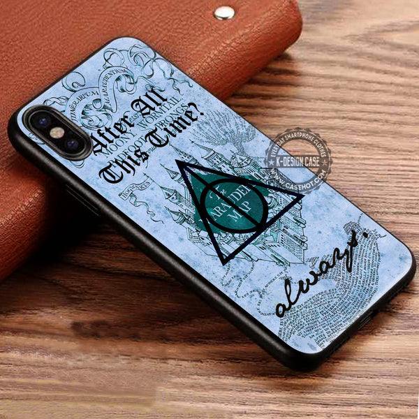 Harry Potter After All This Time Always Quote iPhone X Case