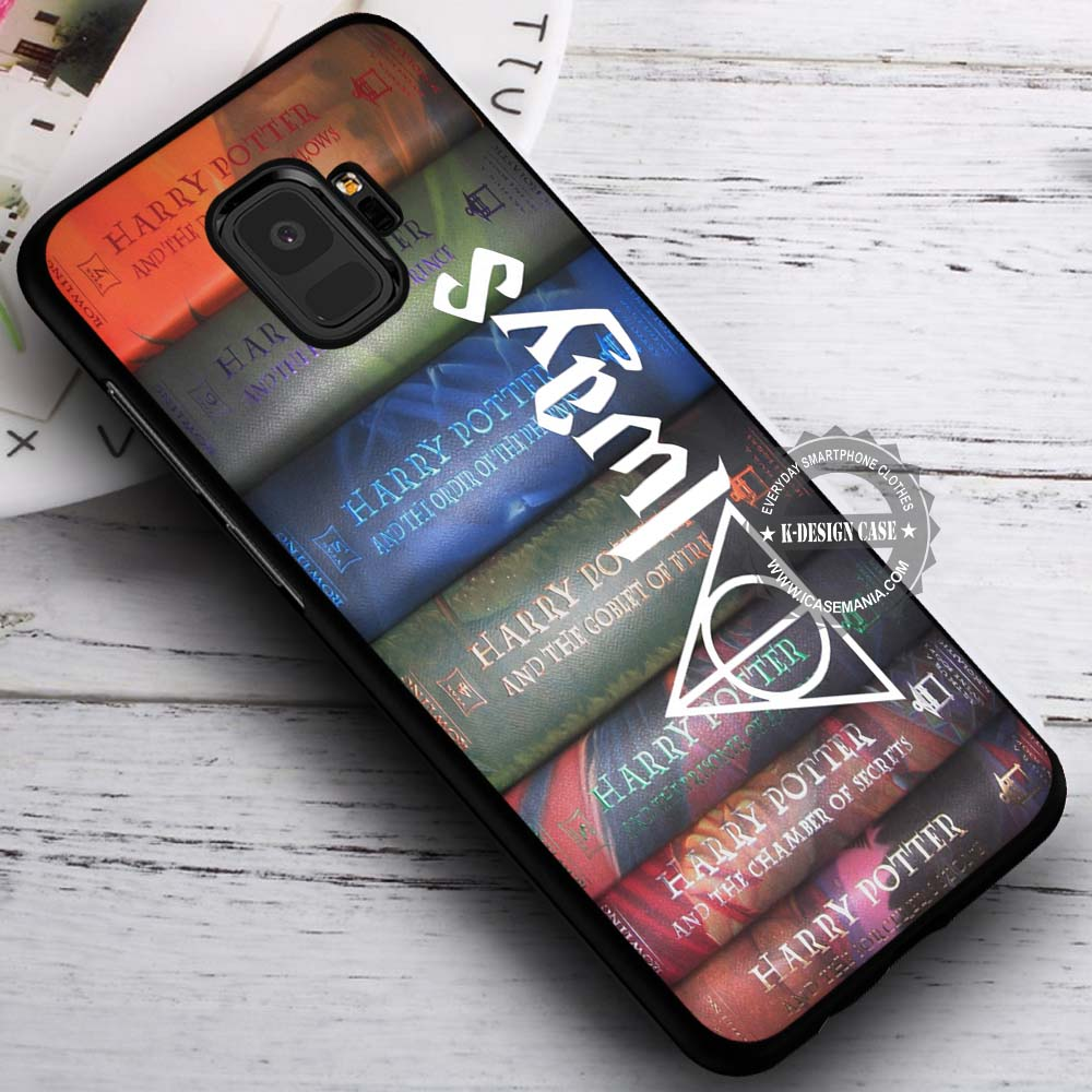 7feda128518 Harry Potter Books Deathly Hallows iPhone X 8 7 Plus 6s Cases Samsung –  K-Designs