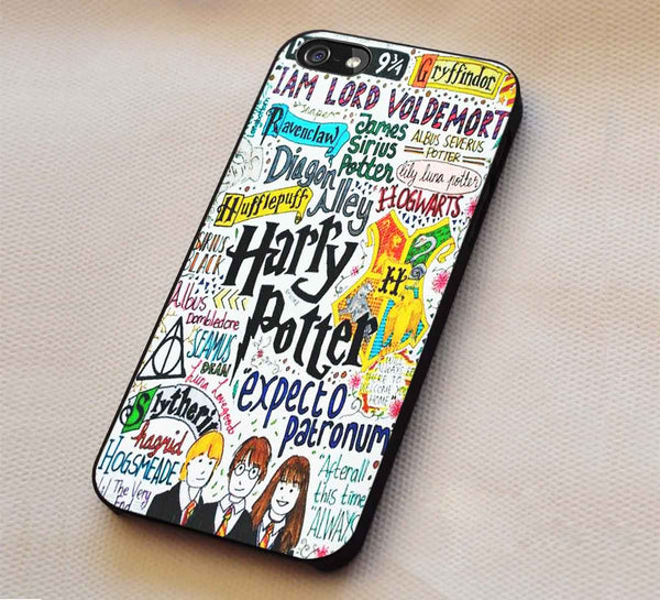 Harry Potter Collage  iPhone 6s 6 plus 6s+ 5s 5c Cases Samsung Galaxy s5 s6 Edge+ NOTE 5 4 3 #movie #HarryPotter dl4 - Kawung Design  - 1