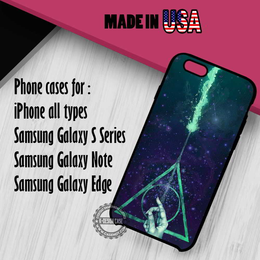 Harry Potter Deathly Hallows Symbol Iphone 7 7 6s 6 Se Cases