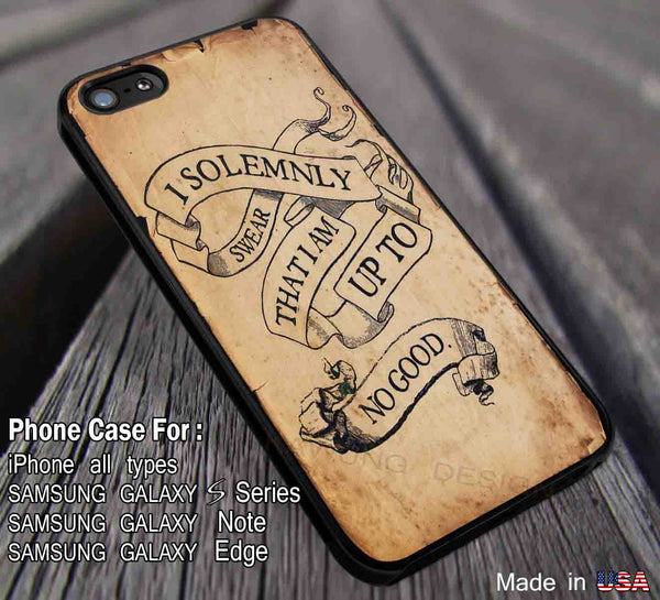 Marauders Map | Harry Potter Quote | Case for iPhone 4/4s/5/5c/6/6+/6s/6s+ Samsung Galaxy Cases S4/S5/S6/Edge/Edge+ NOTE 3/4/5 #movie #hp dod2332 - Kawung Design  - 1
